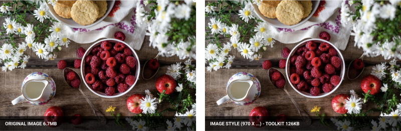Image style 970 toolkit comparison